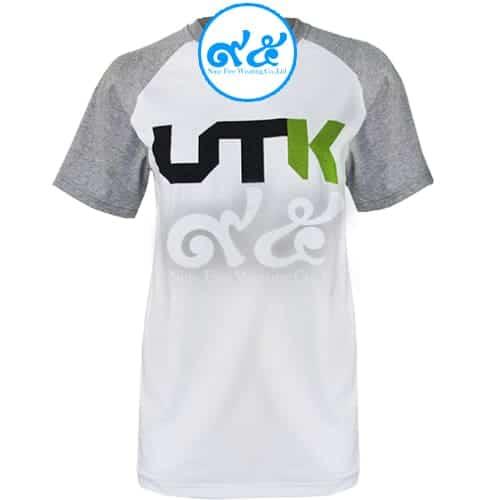 เสื้อคอกลม ไหล่สโลบ UTK