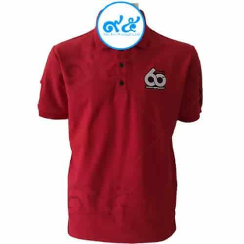 เสื้อโปโล สีแดง 60 ปี Isuzu