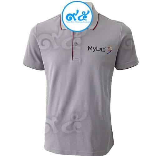 เสื้อโปโล สีเทา Mylab9