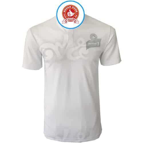 เสื้อโปโล สีขาว ง่วนสูน