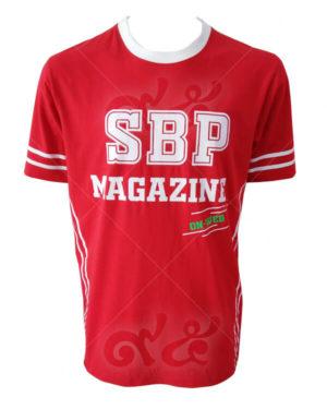 เสื้อยืดคอกลม-สกรีน-สีแดง-sbp-magazine-on-web