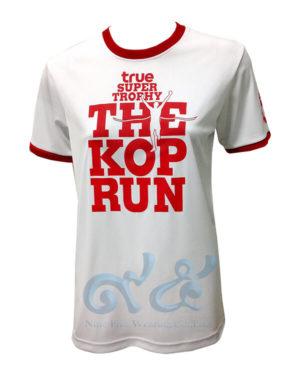 เสื้อยืด-คอกลมขอบแดง-สกรีน-true-super-trorhy-the-kop-run-สีแดง
