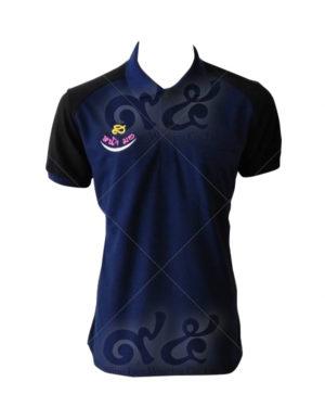 เสื้อโปโล-คอปก-สีน้ำเงิน-ตัดต่อไหล่-สี-ดำ-ปักอกขวา-polo-16