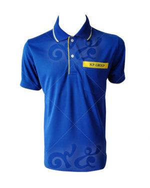 เสื้อโปโล-สีน้ำเงิน-คอปกขลิป-เหลืองขาว-ปลายแขนจั้ม-สาบใน-เหลือง-กระเป๋าต่อแถบเหลือง-polo-23