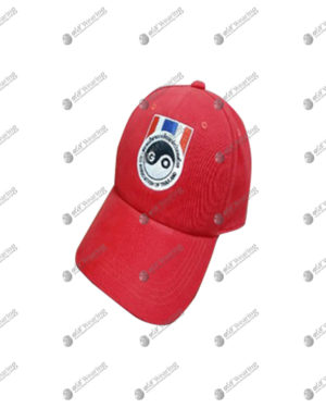 หมวกแก๊ป สีแดง พร้อมปัก รหัสสินค้า cap-08