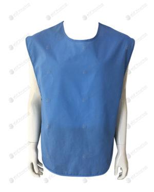 เสื้อกั๊กพนักงาน สีน้ำเงิน 02