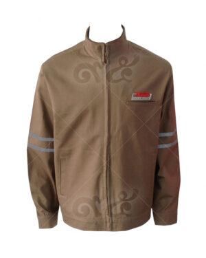 เสื้อแจ็คเก็ต ซิปปิด ผ้าเวสปอยท์ แขนยาว ติดเทปสะท้อนแสง คอปก 11